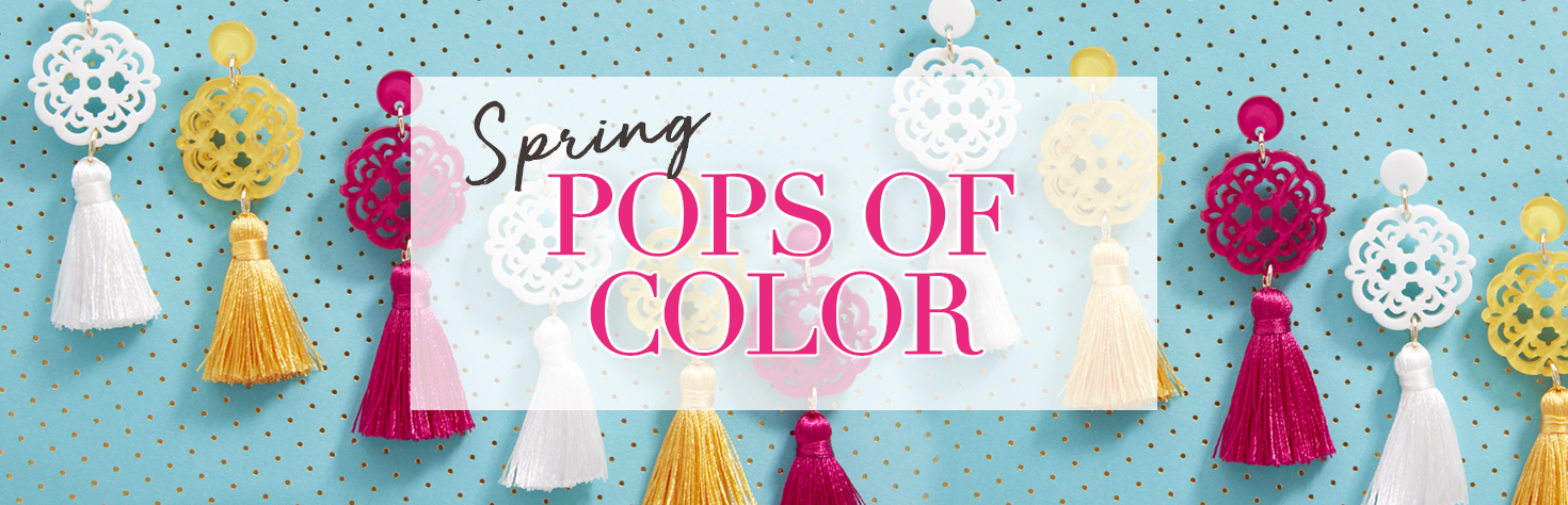 Spring Pops of Color