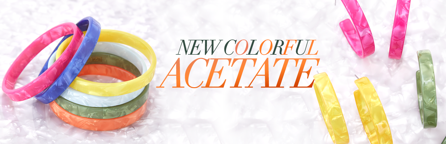 New Colorful Acetate