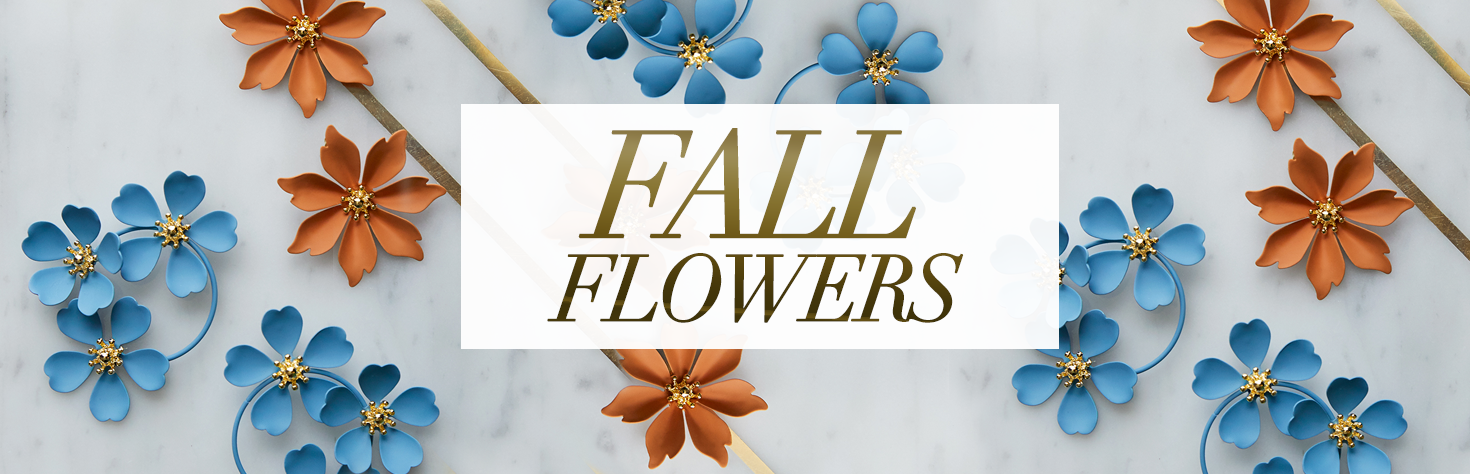 NEW: Fall 2019 Flowers