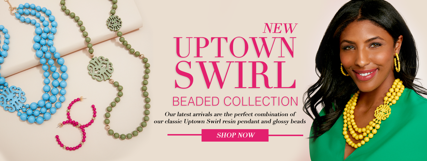 Uptown Swirl Beaded Collection